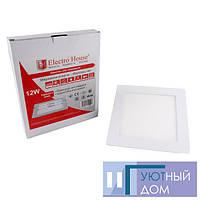 LED панель квадратная 12W 170х170мм