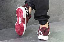 Кроссовки мужские Adidas ClimaCool,сетка,бордовые 44р, фото 3