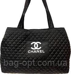 Сумка женская стеганая черная Chanel