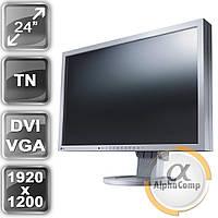 """Монитор 24"""" EIZO S2402W (TN/16:10/VGA/DVI/USB/колонки) class B БУ"""