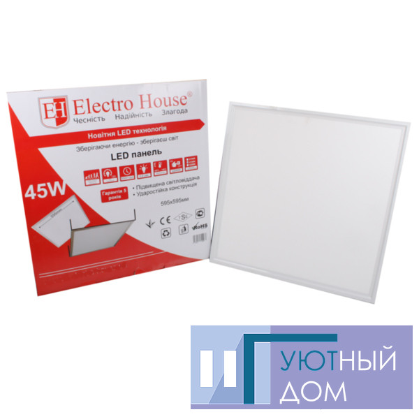 LED панель квадратна 36W 595х595мм