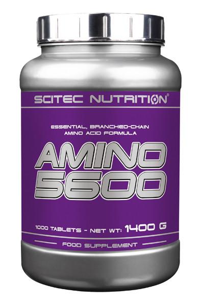 Аминокислоты Scitec Nutrition Amino 5600 1000 tabs