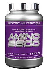 Амінокислоти Scitec Nutrition Amino 5600 1000 tabs