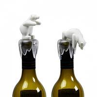 Стоппер для бутылки Bottoms Up Bear Qualy