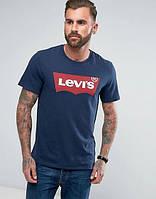 Футболка Levis темно-синяя