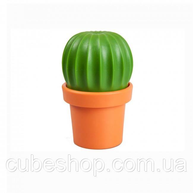 Мельница для соли или перца Tasty Cactus Qualy (оранжевая-зеленая), фото 1