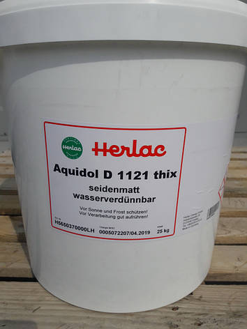 Водный лак Аквидол Д1121 - ведро 25 кг, фото 2
