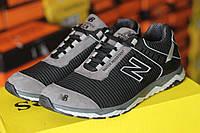 Мужские модные кроссовки New Balance , (кожа +текстиль), фото 1