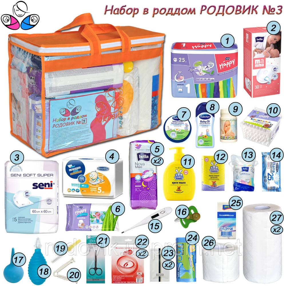 547cebc52fae Сумка для мамы в роддом Родовик №3, цена 955 грн., купить в Одессе ...