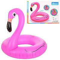 Надувной круг  Фламинго, размер 120 см, D25654