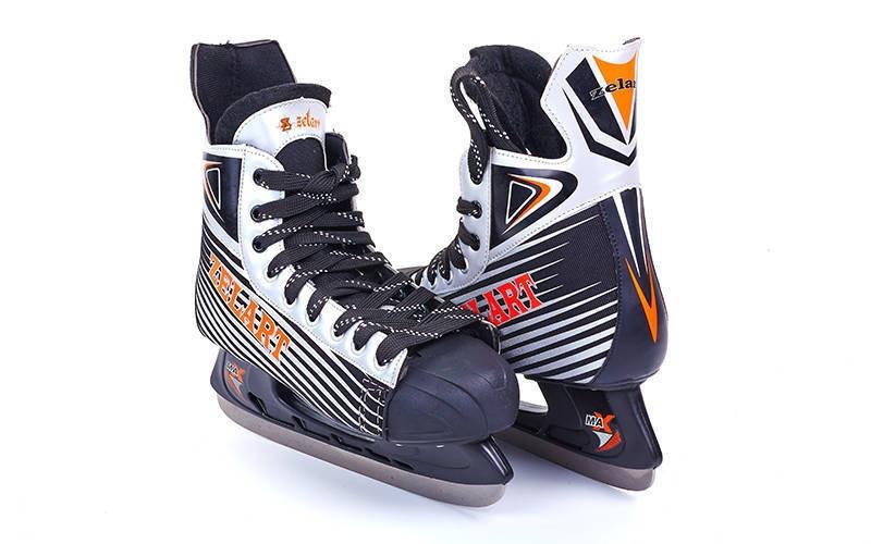 Коньки хоккейные Zelart Z-2062 размер 43,44 Акция!