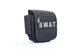 Сумка тактическая на пояс REED SWAT-BK