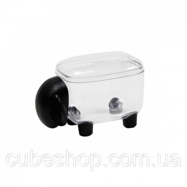 Контейнер Sheepshape Container Junior Qualy (прозрачный-черный)