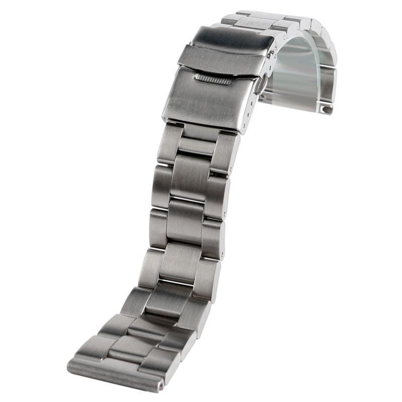 Браслет для часов из нержавеющей стали 316L, литой, сатин. 20-й размер.