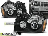 Передние фары тюнинг оптика Chrysler Jeep Grand Cherokee WK