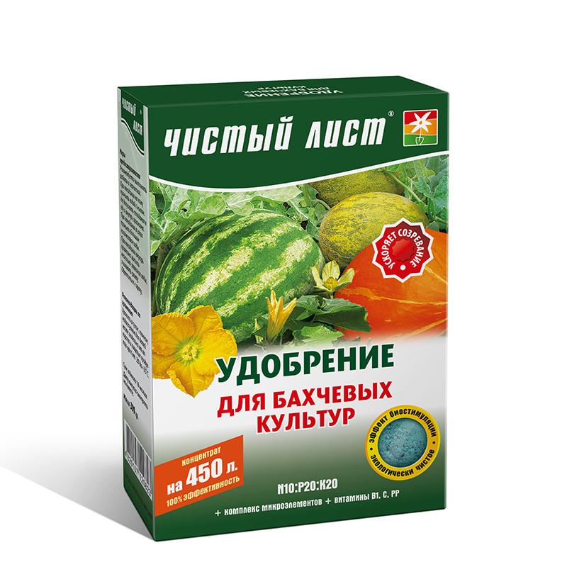 Удобрение для бахчевых Чистый Лист, 300г
