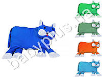 Игрушка-подушка Кот, цвета в асортименте, наполнитель силиконизированное гиппоалергенное волокно