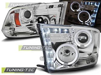 Фары передние тюнинг оптика Dodge Ram