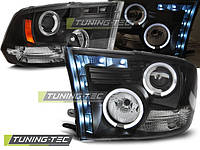 Передние фары тюнинг оптика Dodge Ram