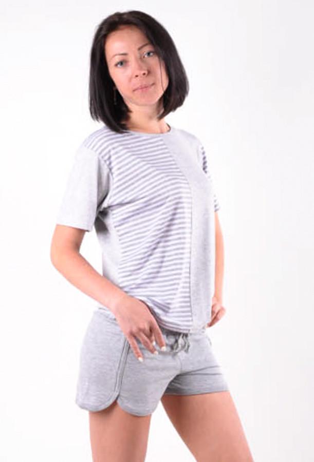 Женский летний костюм Морячка размеры 40-46