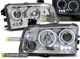 Передние фары Dodge Charger LX тюнинг Led оптика