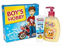 Набор подарочный для мальчиков №2 (Крем 75мл+Крем-мыло 330г + бонус)