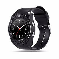 Часы-телефон Smart Watch V8 Black