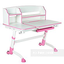 Зростаюча дитяча парта FunDesk Amare II Pink