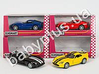Hoku Машинка метал KINSMART инер-я, 1:36 DODGE 2013 SRT VIPER GTS , откр.двери, резиновые колеса, 4 цвета, в кор-ке