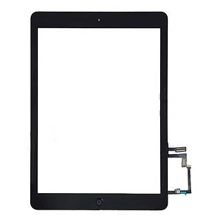 Оригинальный сенсорный экран (тачскрин, стекло и кнопка Home в сборе) iPad AIR черный
