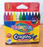 Восковые мелки 12 цветов ТМ Colorino (13314PTR), фото 3