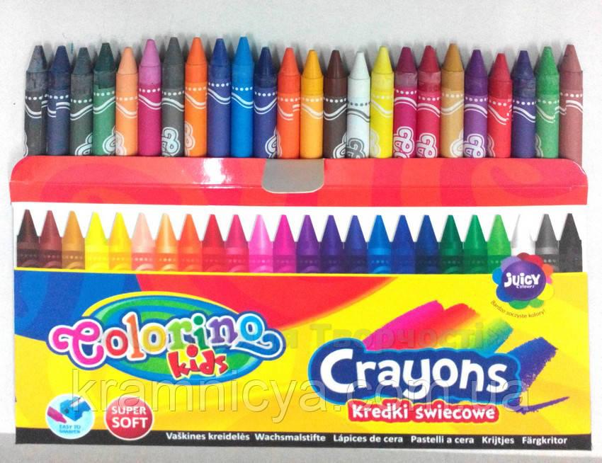 Восковые мелки 24 цвета Colorino (13895PTR)
