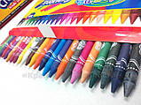 Восковые мелки 24 цвета Colorino (13895PTR), фото 4