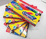 Восковые мелки 24 цвета Colorino (13895PTR), фото 7