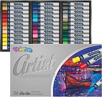 Пастель масляная Artist Colorino, 36 цветов (65726PTR)