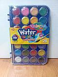 Краски акварельные с кисточкой 28 цветов Colorino (67317PTR), фото 2