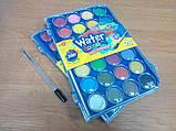 Краски акварельные с кисточкой 28 цветов Colorino (67317PTR), фото 3