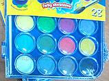 Краски акварельные с кисточкой 28 цветов Colorino (67317PTR), фото 4