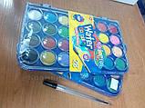 Краски акварельные с кисточкой 28 цветов Colorino (67317PTR), фото 6
