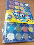 Краски акварельные с кисточкой 28 цветов Colorino (67317PTR), фото 7