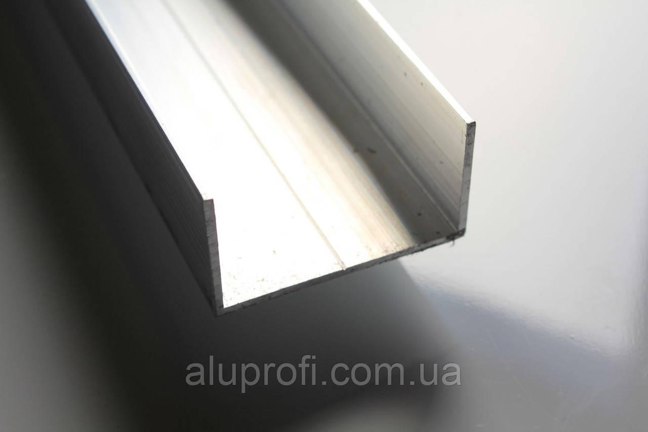 Швеллер алюминиевый 70х30х3,0 мм