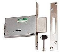 Дверной замок Mottura 40.701 6000 56, короткий ключ, 60мм Backset
