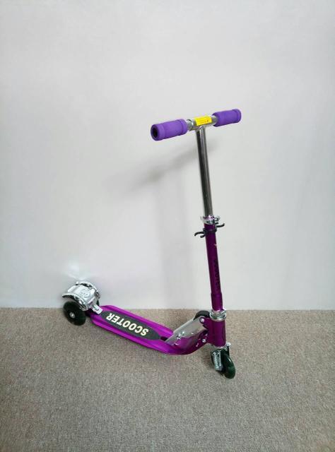 Самокат 997 Алюминиевый Фиолетовый