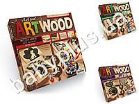Набор для творчества ARTWOOD подставка под чашки выпиливание лобзиком