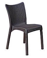 Садовое кресло из техноротанга
