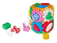 Развивающая игра Куб Умный малыш Конструктор