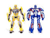 Трансформер Transformers, 34см, звук (англ, стрельбы), свет, 2 цвета, на бат-ке, в кульке
