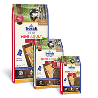 Bosch Mini Adult Lamm & Reis, корм для мелких пород собак, ягнёнок с рисом, NEW! 1кг