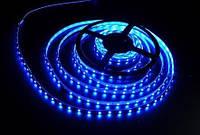 Лента светодиодная 60SMD(5050)/m 14,4W/m 12V 1m*8*0.22mm Синяя