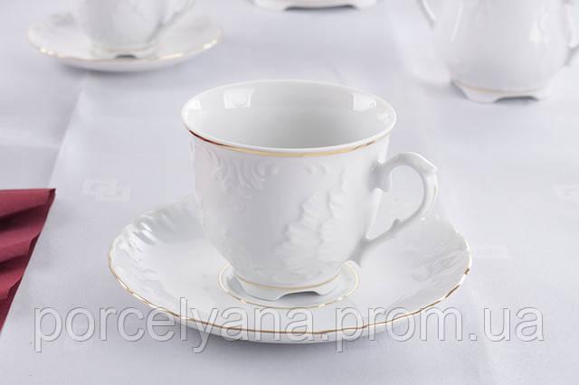 Чашки с блюдцами rococo 3604